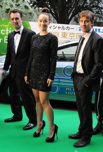 Olivia Wilde, Sean Bally & Garret Hedlund @ the Opening of the 2010 Tokyo Film Festival (HQ)