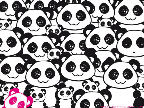 Pandas wallpaper titled Pandas