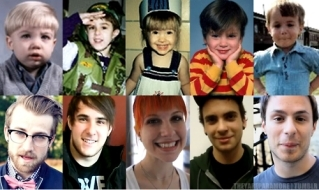 Paramore: then and now !so cute