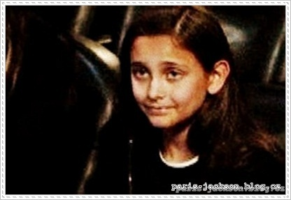 Paris Jackson *Rare*Photo / Memorial 2009.