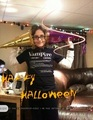 Paris Jackson is Happy Halloween