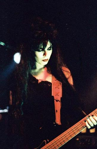 Patricia Morrison of The Damned