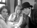 Pattie, Prudence and Paul in A Hard Day's Night - pattie-boyd screencap