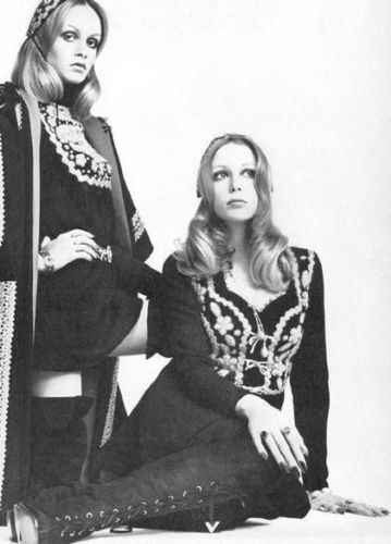 Pattie and Twiggy - pattie-boyd Photo