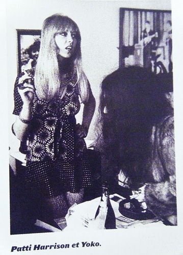 Pattie and Yoko - pattie-boyd Photo