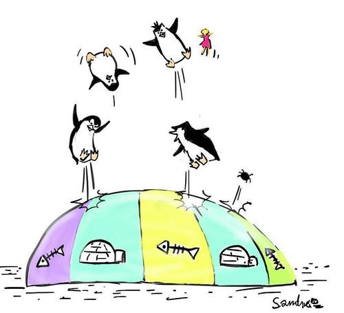 Penguin's Bouncy Bounce