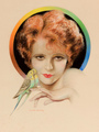 Photoplay Magazine Cover - clara-bow fan art