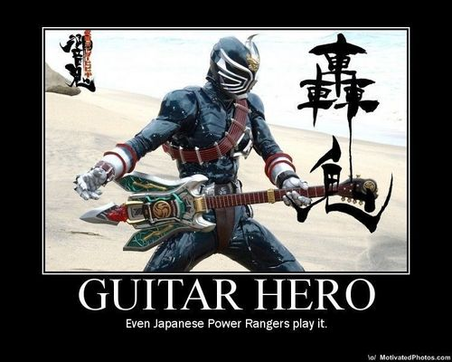 Power Rangers: Warriors of Rock!