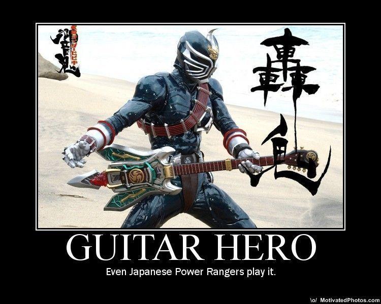 Power Rangers: Warriors of Rock!