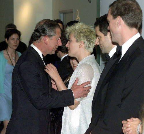 Prince Charles, Emma and Hugh