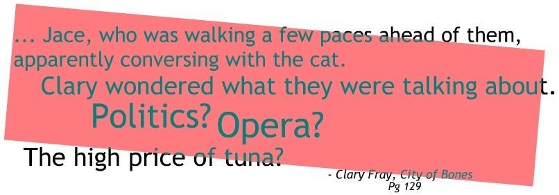 Quotes From Mortal Instruments City Of Bones Mortal Instrume...