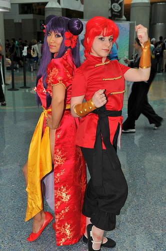 Ranma and Shampoo Cosplay