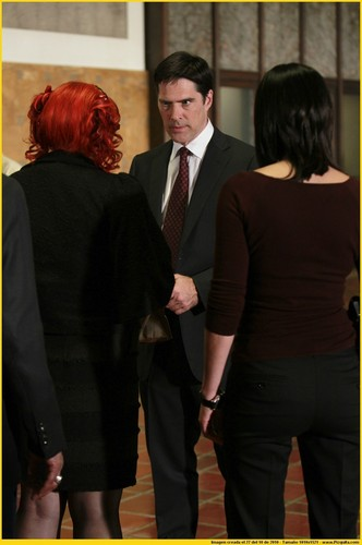 SSA Aaron Hotchner 바탕화면 with a business suit, a suit, and a three piece suit entitled Reflection of Desire