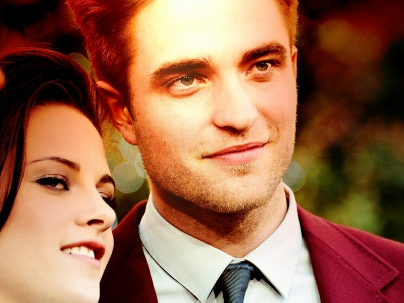 robert pattinson kristen stewart wallpaper. Robsten wallpaper - Robert