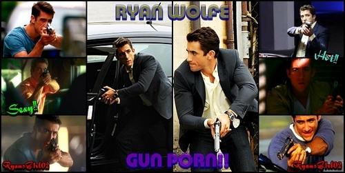 Ryan Wolfe~Gun Porn