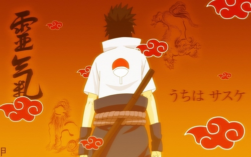 Uchihas wallpaper possibly with a tabard, a top, and a blouse called Sasuke  Uchiha