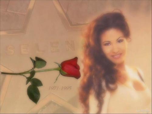 Selena como la flor!!