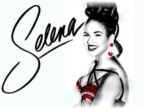 Selena Quintanilla-Pérez wallpaper possibly containing a portrait called Selena