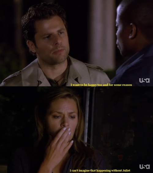 psych juliet and shawn dating Tv shows psych follow/fav time at a  shawn had made leaps and strides in maturity ever since he started dating juliet,  sitting down by juliet's bed, shawn.