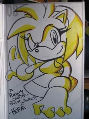 Sketchbook Sketches: Amy Rose