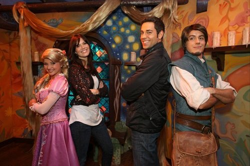 Tangled at Disneyland