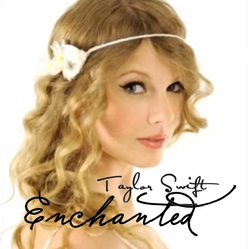 Anichu90 wallpaper containing a portrait titled Taylor Swift - Enchanted [My FanMade Single Cover]