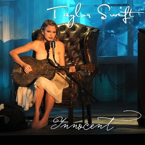 Taylor pantas, swift - Innocent [My FanMade Single Cover]