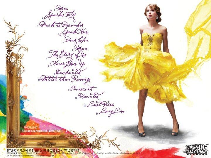 Speak Now Taylor Swift's Speak Now :)