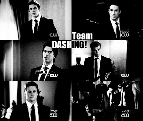 Team Dashing. - the-vampire-diaries-tv-show Fan Art