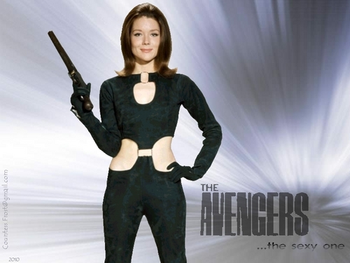 Diana Rigg wallpaper titled The Avengers ...the sexy one