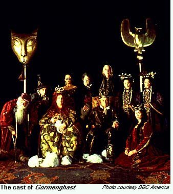The Cast of Gormenghast