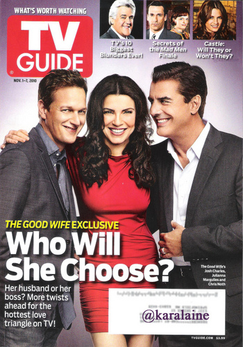 The Good Wife - TV Guide Cover (Nov. 1-7, 2010)