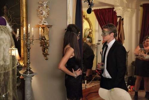 The Vampire Diaries - Episode 2.07 - Masquerade - BTS Promotional تصاویر