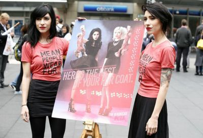 The Veronicas Unveil Anti-Fur Ad For Peta 2010