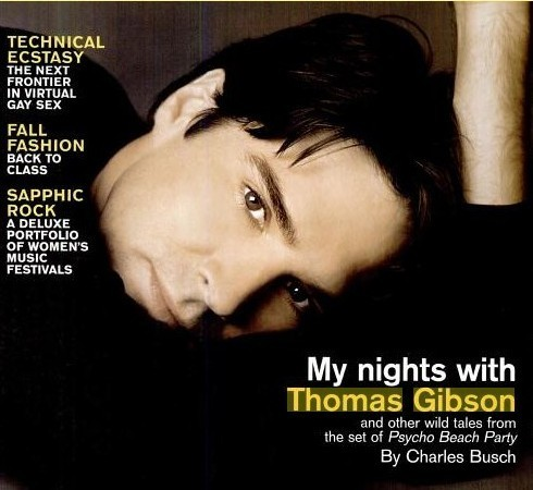 Thomas Gibson wallpaper containing a portrait entitled Thomas Gibson in magazines