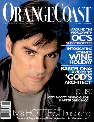 Thomas Gibson wallpaper containing a portrait titled Thomas Gibson in magazines