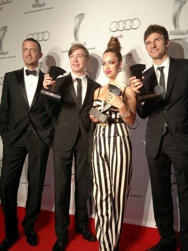 Thomas Müller at 아우디 Generation Awards