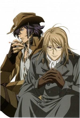 Toga Yagari & Kaien cruzar, cruz