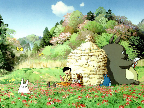 Totoro wolpeyper