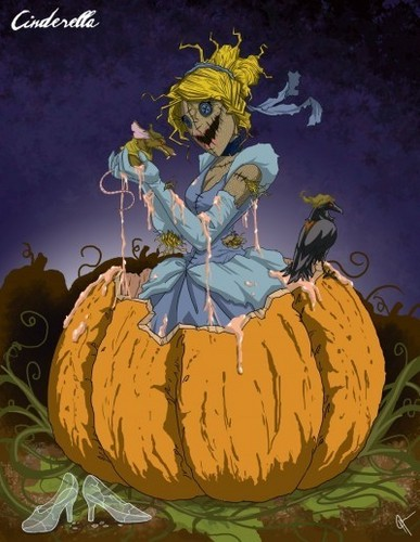 little disney princesses fondo de pantalla called Twisted Princess