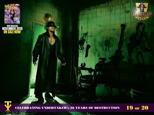 Undertaker দেওয়ালপত্র