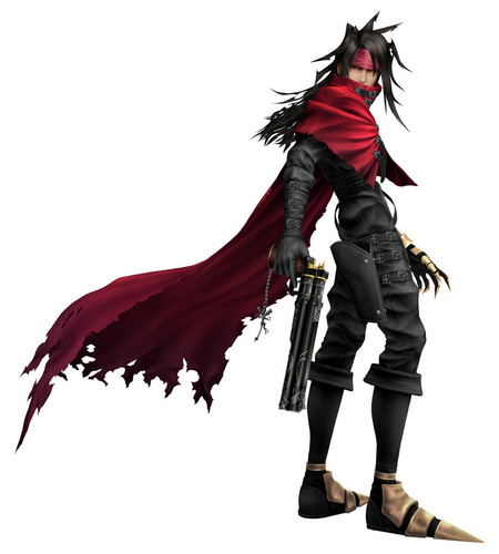 Vincent Valentine वॉलपेपर with a hip boot and a surcoat, सुरकोट called Vincent