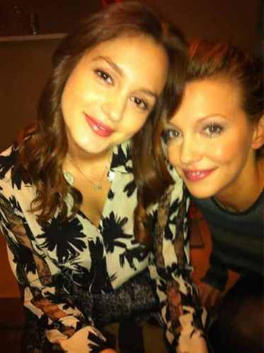 With Katie Cassidy.