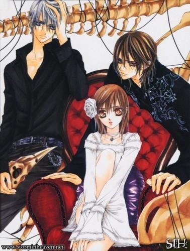 Zero, Yuki & Kaname