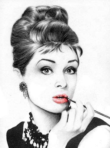 audrey hepbourn-lips