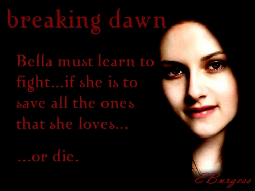 breaking dawn poster by kissthespider