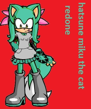 hatsune sonic from