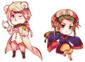 hetalia - axis powers Dia das bruxas Russia and China