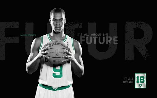 Rajon Rondo Hintergrund entitled it's all about the future