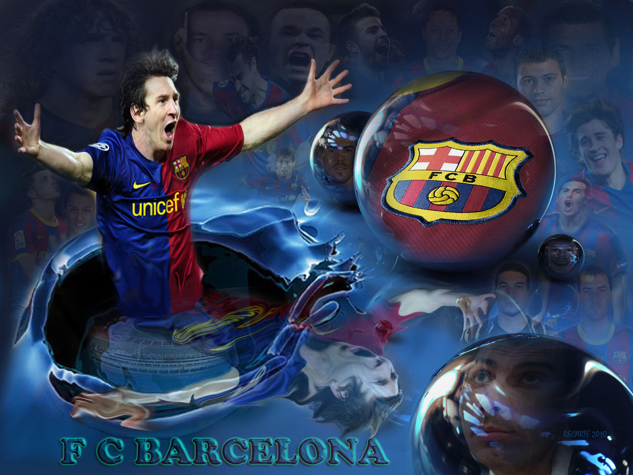 The Gallery For Gt Fc Barcelona Logo Messi